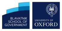 Blatnik school of goverment logo