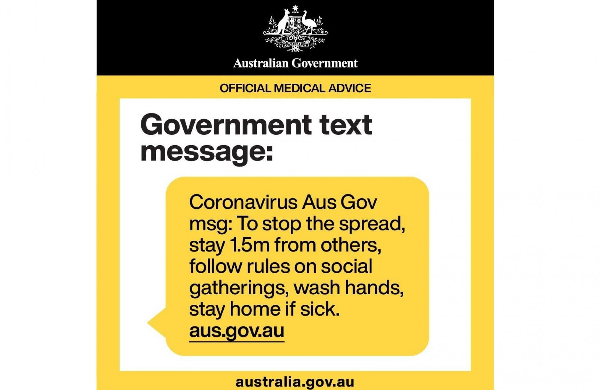 aus text message
